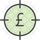 Earnings Goal Bullseye Icon
