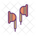 Iear Plug Earphone Earbud Icon