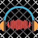 Earphone Network Internet Icon