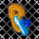 Earphones Music Gadget Icon