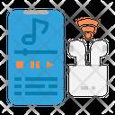 Smartphone Music Earpod Icon