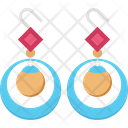 Earring Girlish Fashion Accessory Icon