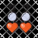 Earring Jewel Heart Icon