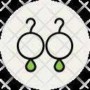Earrings Jewelry Eardrops Icon