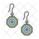 Earrings Color Icon