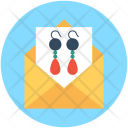 Earrings Envelope Girlish Icon