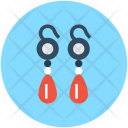 Earrings Eardrops Girlish Icon