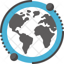 Earth Global Network Icon