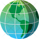 Global Map Travel Icon