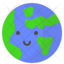 Earth Night Earth Global Icon