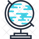 Earth Education Geography Icon