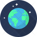 Earth Space Galaxy Icon