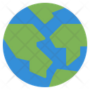 Earth Eco Globe Icon