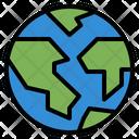 Earth Eco Globe Icon