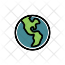 Earth Blue Planet Icon