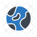 Map Earth Planet Icon