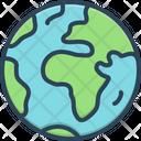 Earth Terra Globe Icon