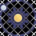 Earth Orbit Orbital Icon