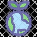 Plant Leaf Growth Icon