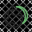 Star Orbitting Earth Icon