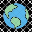 Earth Globe World Icon