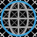 Earth Globe Internet Icon