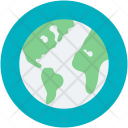 Earth Globe Planet Icon