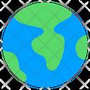 Earth Globe Planet Icon