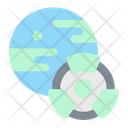 Earth Nuclear Science Icon