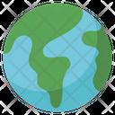 Earth World Global Icon