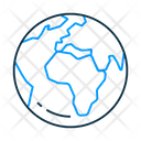 Earth Globe Map Icon