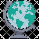 Earth Map Globe Icon