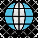 Earth Global Globe Icon