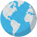 Earth Geography Globe Icon