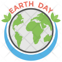 Earth Day Environment Icon
