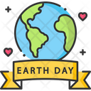 A Earth Day Earth Day Earth Icon
