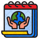 Earth Day World Event Icon