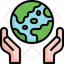 Earth Day World Humanitarian Day Save The Planet Icon