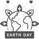 A Earth Day Banner Icon