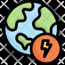 Earth Energy Icon
