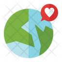 Earth Love Icon