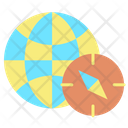 Earth Map Icon