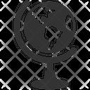 Earth Geography Globe Icon