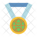 Earth Medal Icon