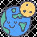Earth night Icon