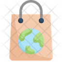 Earth On Bag Icon