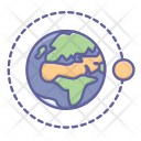 Earth orbit Icon