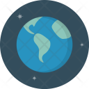 Earth Planet Astrology Icon