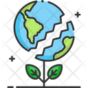 A Earth Earth Plant Plant Icon