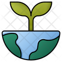 Earth Plant Nature Green Earth Icon